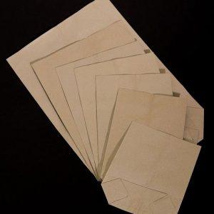 Torebki papierowe krzyżowe