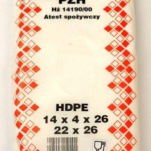 Woreczki foliowe HDPE